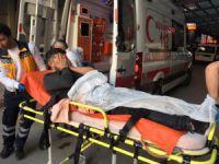 Bursa'da taciz kavgası