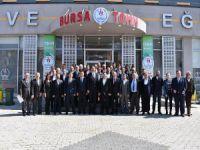 Sinan Aksu Bursa'yı ziyaret etti
