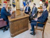 Beyaz saray'da Albayrak-Trump görüşmesi