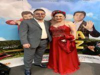 Film galasında evlilik yıldönümü