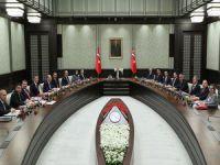 Erdoğan'dan Kabine Toplantısı