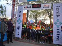 İznik Ultra Maratonu'nda heyecan sürüyor
