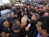 Kemal Kılıçdaroğlu'na saldırı...