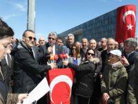 Saldırya Bursa'dan tepki!