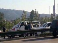 Bursa'da yol kavgası