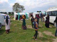 Bursa'da tarım işçilerinin zorlu hayatı
