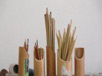 Bursa'da hat kalemi yapıp dünyaya satıyor