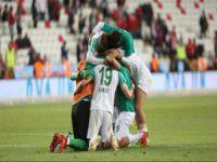 Bursaspor kader maçında
