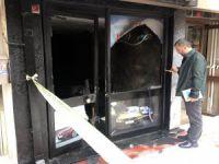 Bursa'da iş yerini yaktı