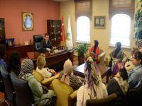 Osmangazi Kadın Kolları'ndan Dündar'a ziyaret