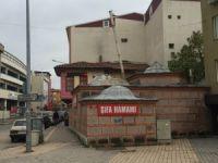 Bursa'da hamamda facia