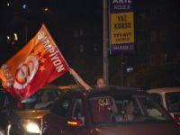 Bursa'da Galatasaray şampiyonluğu kutlandı