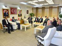 İMSİAD'dan Oktay Yılmaz'a ziyaret