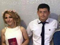 Bursa'da düğün sabahı eşini öldürdü