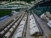 Bursaspor'un stadyumuna büyük zarar