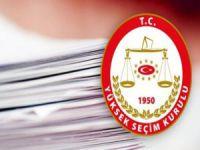 YSK'dan kritik 23 Haziran kararı