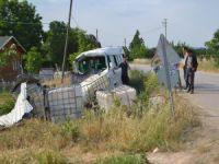 Bursa'da bayramlaşma dönüşü kaza!