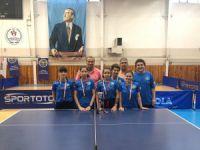 Masa Tenisinde Türkiye üçüncülüğü!