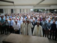Bursa'da Mursi için gıyabî cenaze namazı