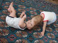 Siyam ikizleri 1 yaşında