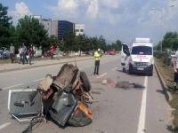 Bursa'da korkunç kaza: 2 ölü