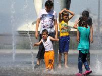 Bursa'da sıcak hava!