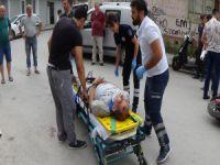 Bursa'da bisiklet kazası!
