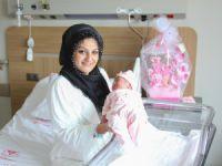 Bursa Şehir Hastanesi'nde ilk bebek!