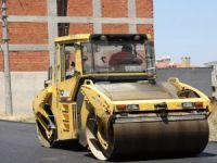 Nilüfer'de asfalt çalışması