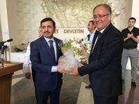 Bursa'da Başsavcı personelle vedalaştı