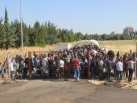 Sınırda Suriyeli izdihamı!