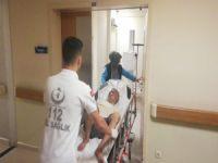 Bursa'da kırmızı ışık hastanelik etti