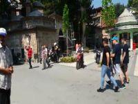 Bursa'da kaldırımı kullanan sürücülere ceza!