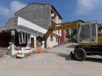 Bursa'da o binalar yıkıldı!