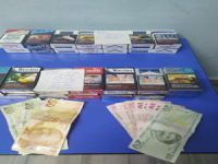Bursa'da büfe hırsızları polisten kaçamadı