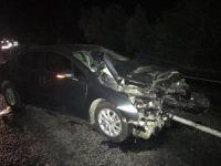 Bursa'da alkollü sürücü kaza yaptı!