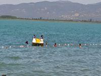 İznik Gölü'nde ölümden döndü!