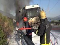 Bursa'da tanker alev alev yandı!