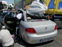 Bursa'da trafik kazası!
