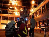 Hastanede yangın: 1 ölü, 8 yaralı