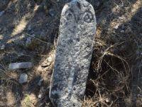 Bursa'da koç başlı mezar taşı bulundu