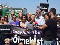 CHP Bursa'dan kadına şiddete sert tepki