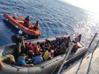 Göçmenler botta yakalandı