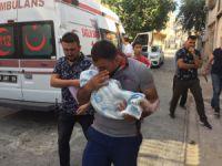 Çocuk gelinin 3 aylık bebeği öldü