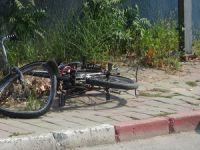 Bursa'da bisiklet sürücüsü ölümden döndü