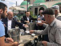 Bursa'da aşure ikramı