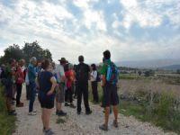 Bursa'da tarih ve doğa ile iç içe yürüdüler