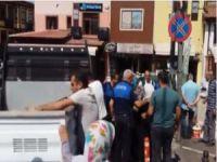 Bursa'da tepki çeken görüntü!