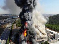 Sanayide büyük yangın