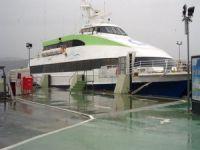 Bursa'da deniz ulaşımına fırtına engeli